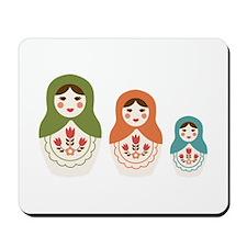 Matryoshka Russian Dolls Mousepad