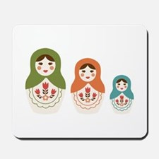 Matryoshka Russian Dolls Mousepad