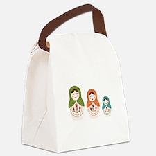 Matryoshka Russian Dolls Canvas Lunch Bag