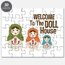 WELCOME TO THE DOLL HOUSE Puzzle