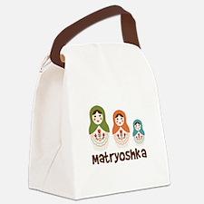 MATRYOSHKA Canvas Lunch Bag