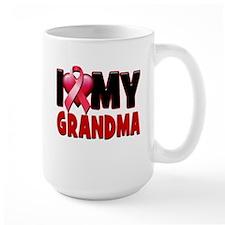I Love My Grandma Mugs