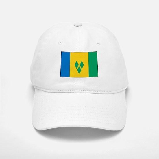 St Vincent Grenadines Flag Baseball Baseball Cap