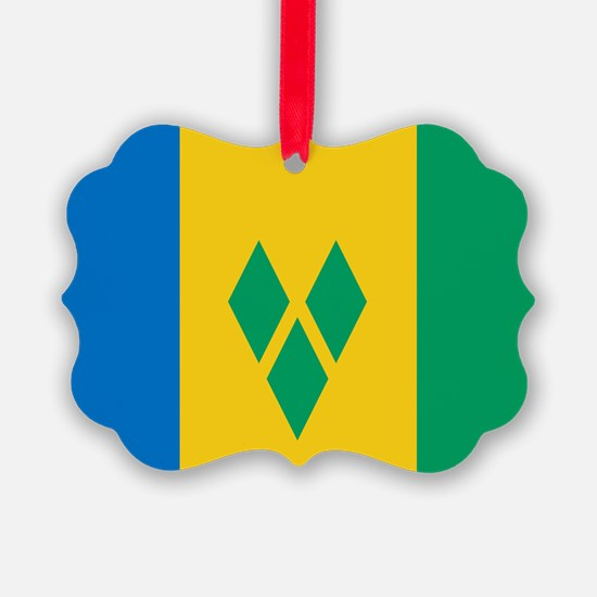 St Vincent Grenadines Flag Ornament