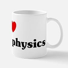 I Love nuclear physics Mug