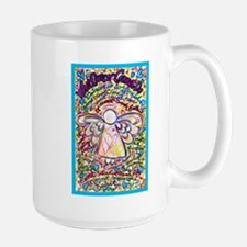 Spring Heart Cancer Angel Mug