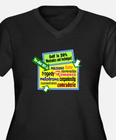 What Golf Is/Grantland Rice Plus Size T-Shirt