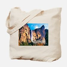 Bridal Veil Falls in Yosemite National Park Tote B
