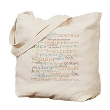 Catullus Ancient Colors Tote Bag