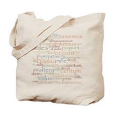 Catullus Ancient Colors Tote Bag