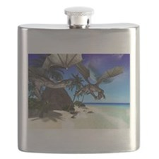 the island of the dragon Flask