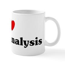 I Love psychoanalysis Mug