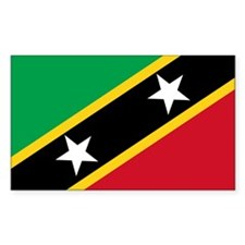 St Kitts Nevis Flag Decal