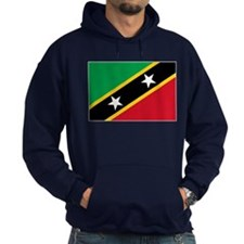 Saint Kitts And Nevis Flag Hoodie