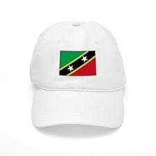 St Kitts Nevis Flag Baseball Cap