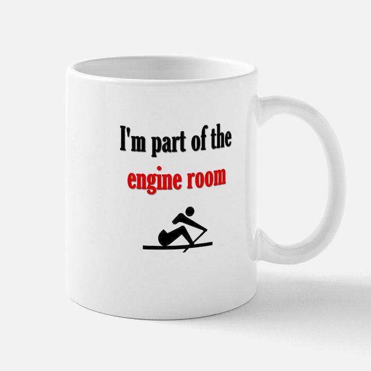 I'm part of the engine room (pic) Mug