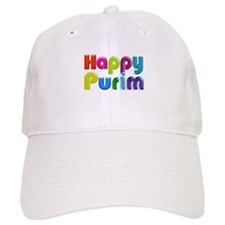 Happy Purim Baseball Baseball Cap