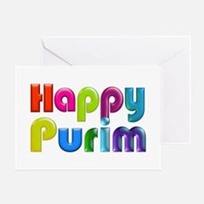 Happy Purim Greeting Cards