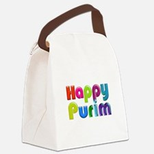 Happy Purim Canvas Lunch Bag