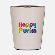 Happy Purim Shot Glass