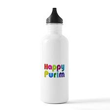 Happy Purim Water Bottle