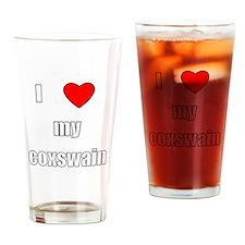 I love my coxswain Drinking Glass