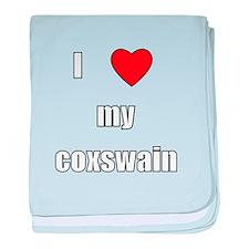 I love my coxswain baby blanket