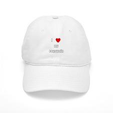 I love my coxswain Baseball Cap
