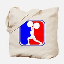 Weightlifting League Logo Tote Bag