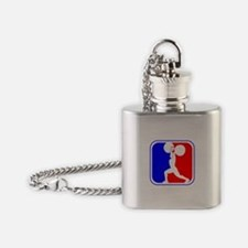 Weightlifting League Logo Flask Necklace