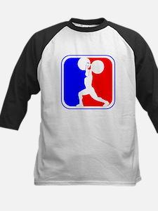 Weightlifting League Logo Baseball Jersey