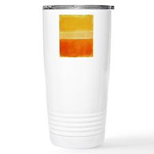 Yellow Orange Rothko Travel Mug