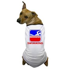 Swimming League Logo Dog T-Shirt