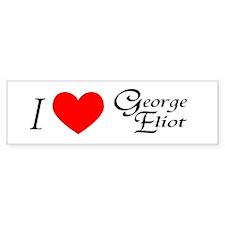 I Love George Eliot Bumper Bumper Sticker