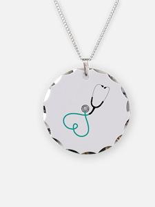 Heart Stethoscope Necklace