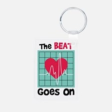 The Beat Goes On Keychains
