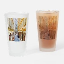 watercolors, vienna Drinking Glass