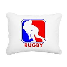 Rugby League Logo Rectangular Canvas Pillow