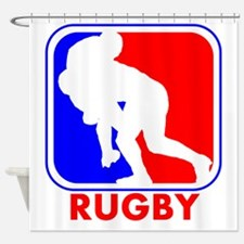 Rugby League Logo Shower Curtain
