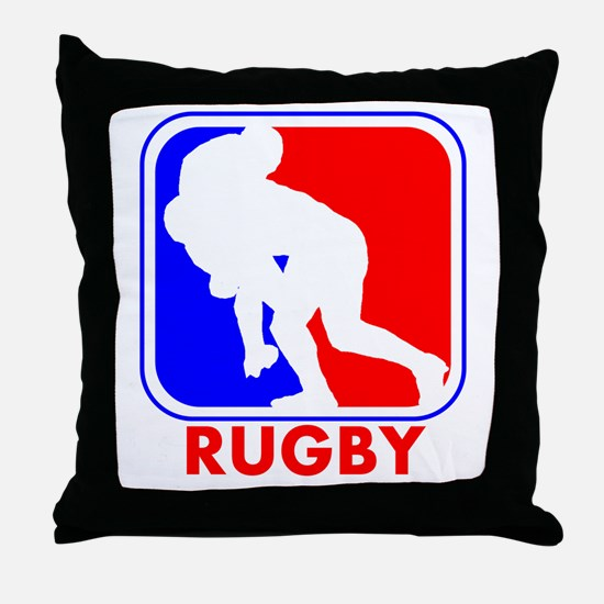 Rugby League Logo Throw Pillow