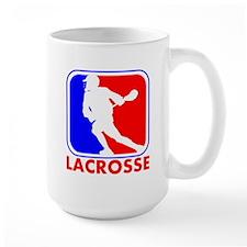 Lacrosse League Logo Mugs