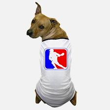 Lacrosse League Logo Dog T-Shirt