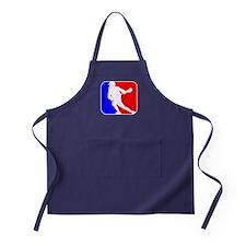 Lacrosse League Logo Apron (dark)