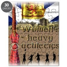 Women's Heavy Athletics Puzzle