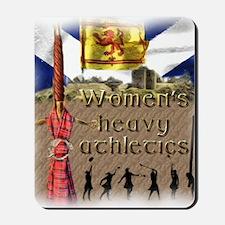 Women's Heavy Athletics Mousepad