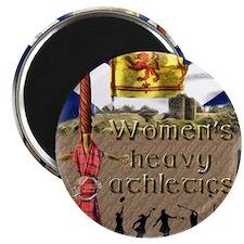 Women's Heavy Athletics Magnet