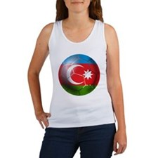 Azerbaijan Soccer Women's Tank Top