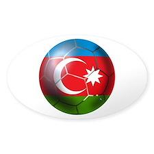 Azerbaijan Soccer Decal