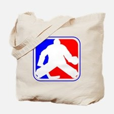 Hockey Goalie League Logo Tote Bag