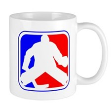 Hockey Goalie League Logo Mugs